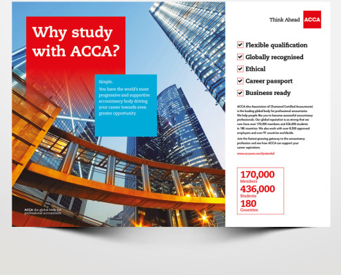 Acca Student Ad
