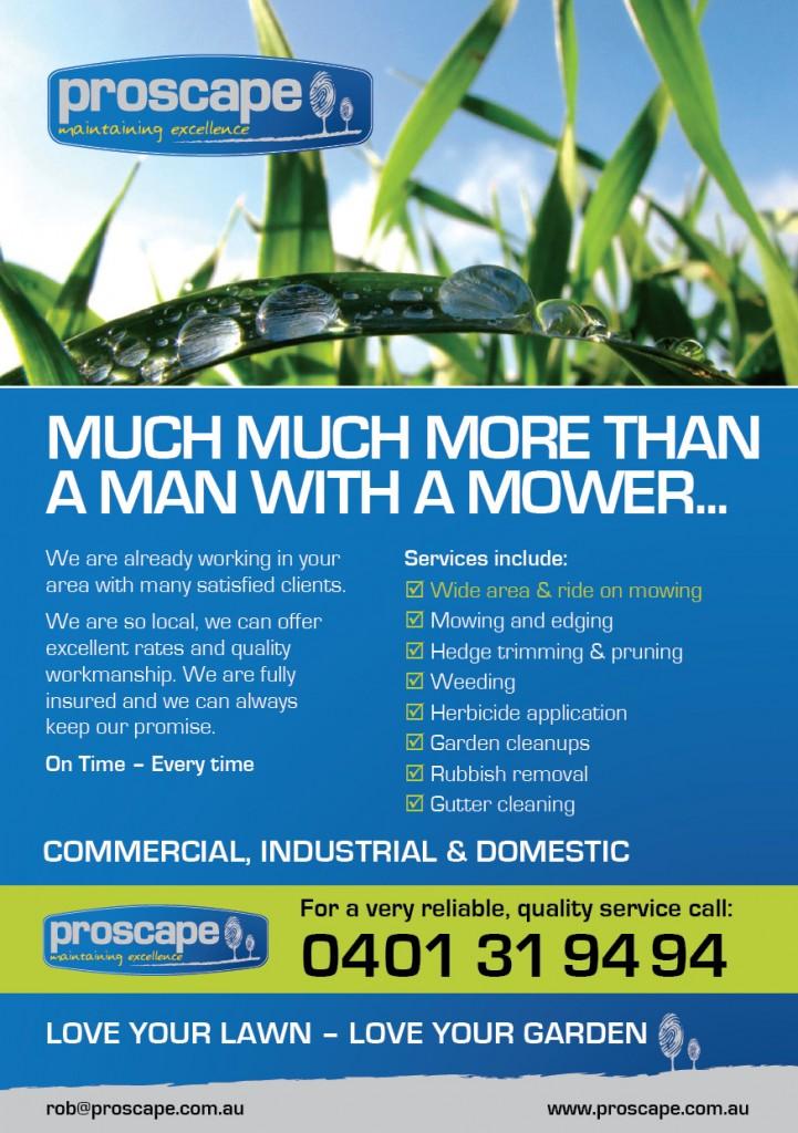 Proscape Flyer