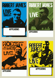 Robert James Music Posters
