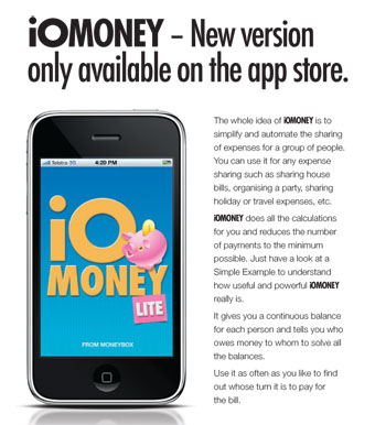 iomoney app re-design